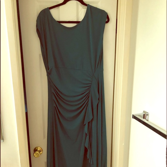 Lane Bryant Dresses & Skirts - Sexy Green ruched dress